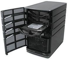 HP MediaSmart Server Drive Bays